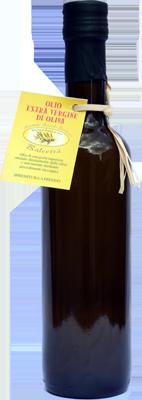0,5 Litro d´Olio Extra Vergine di Oliva in una bottiglia