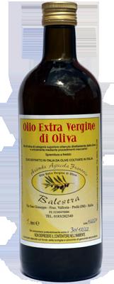 1 Litro d´Olio Extra Vergine di Oliva in una bottiglia